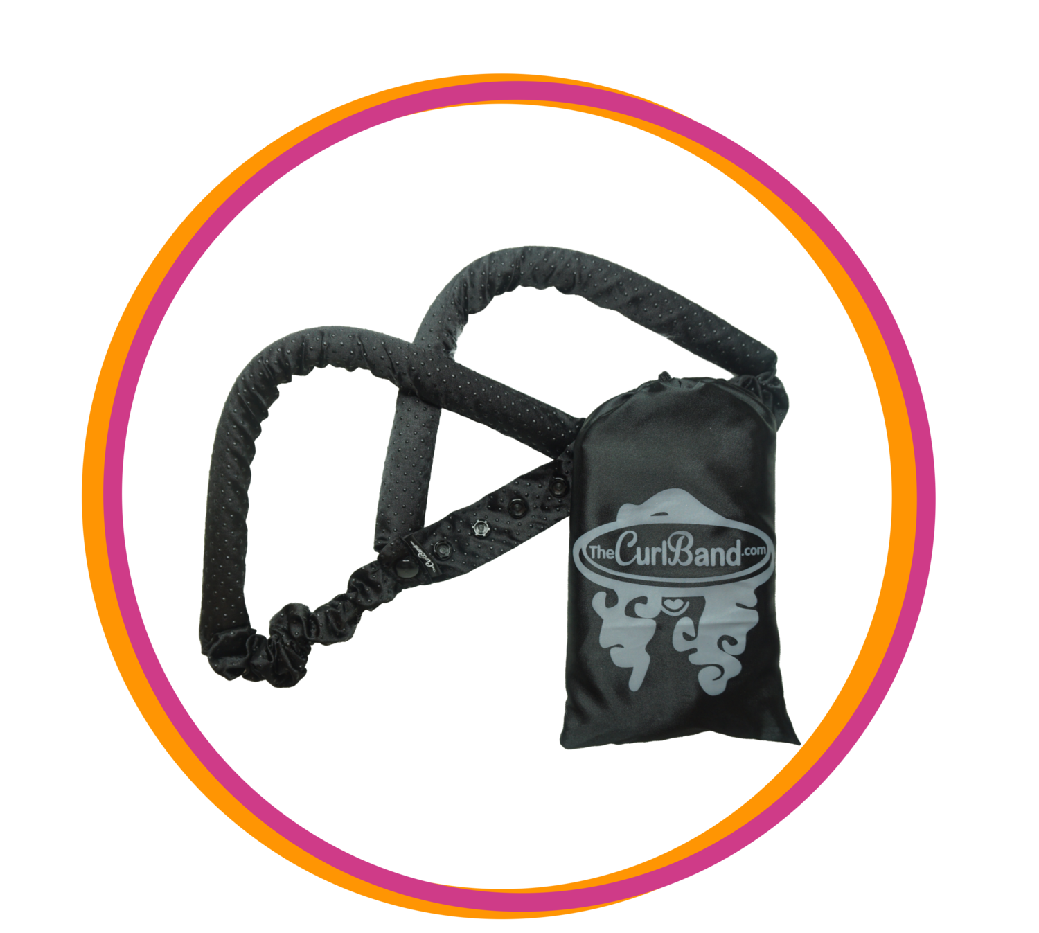 Black CurlBand no-slip (NEW EDITION)
