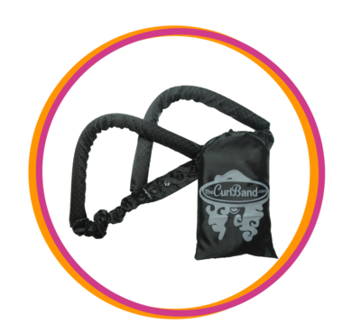 Black CurlBand no-slip (NEW EDITION)