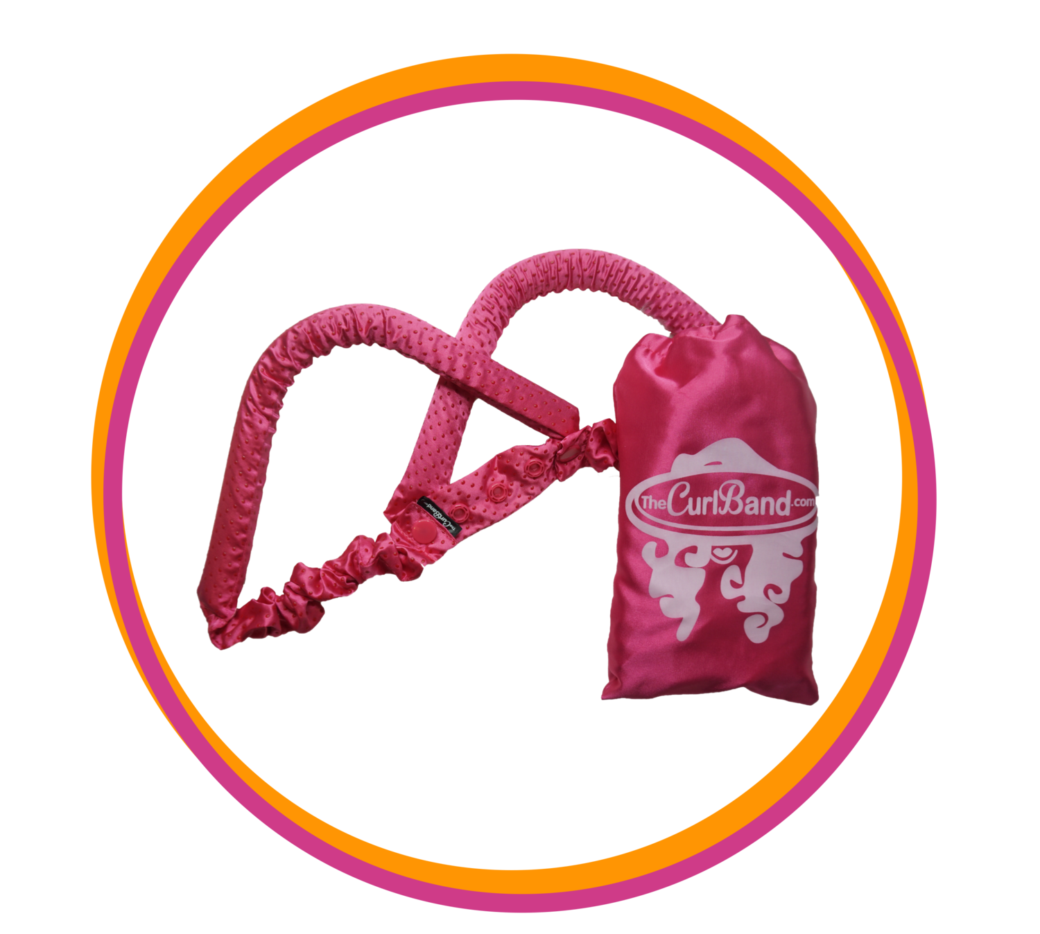 Pink CurlBand no-slip (NEW EDITION)