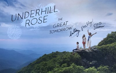 Signed The Great Tomorrow tour poster