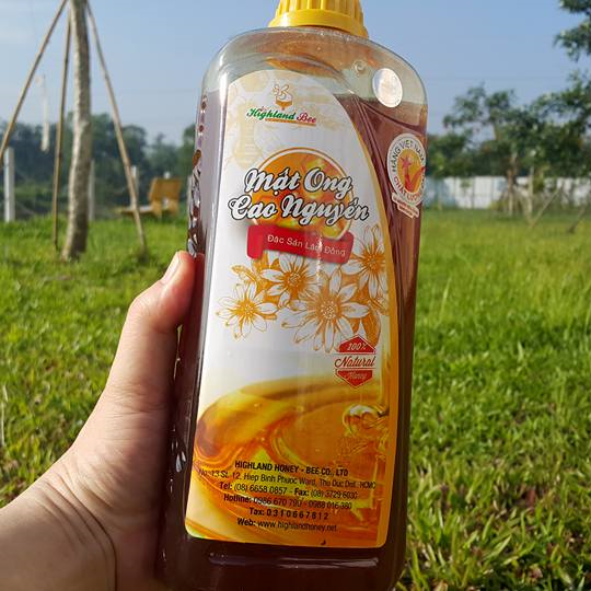 Mật ong Highlandbee 1000ml