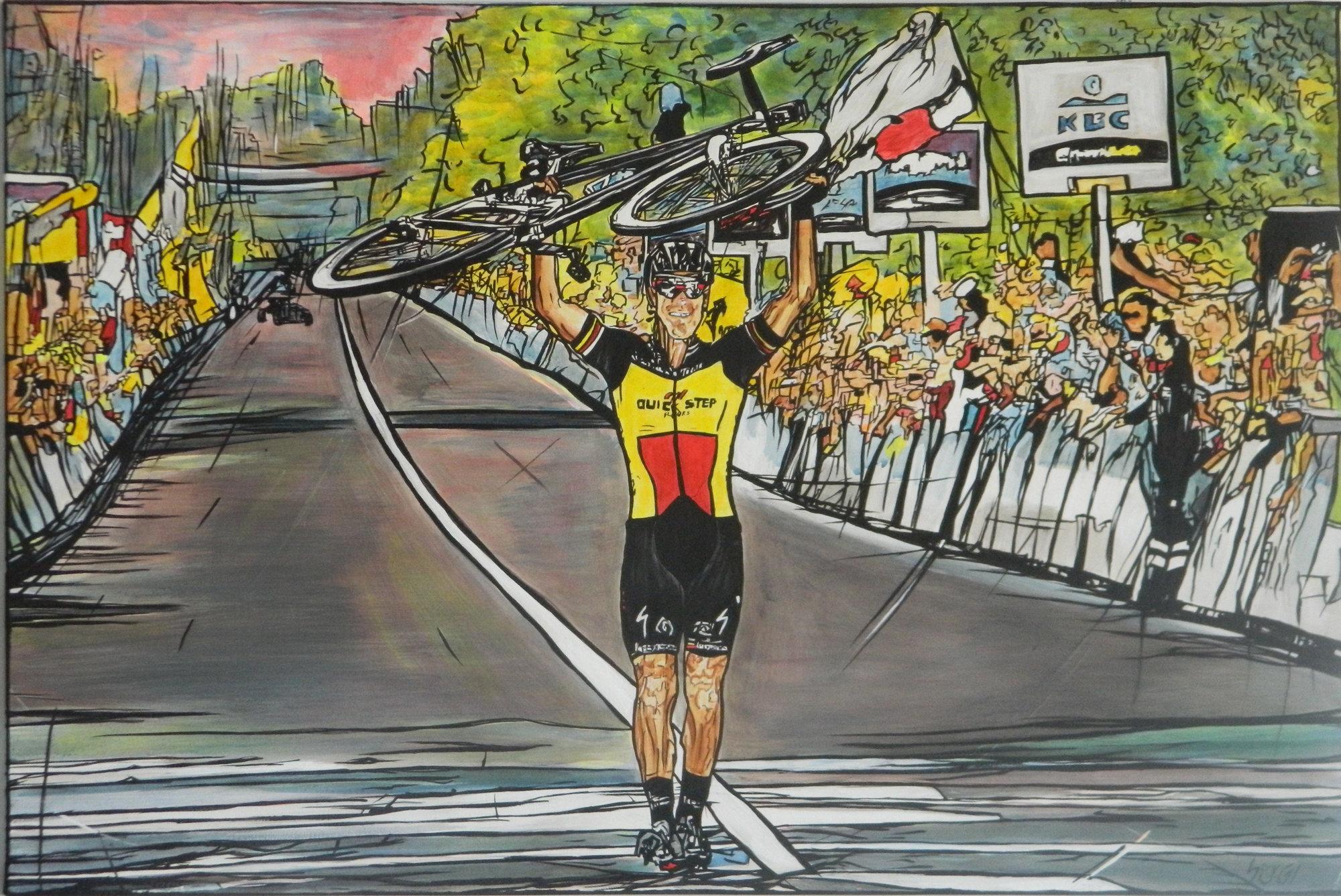 Philippe van Vlaanderen - Acrilico su tela 90x60 QDR0001