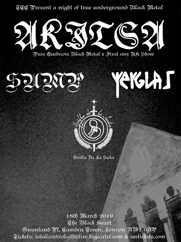 Akitsa 18.03.19 - Ticket - The Black Heart *IN STORE ONLY PICKUP*