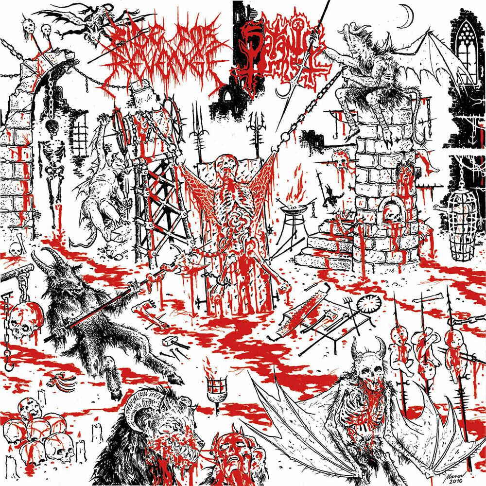 """Ride for Revenge/Satanic Torment - Ride for Revenge/Satanic Torment, 7"""""""