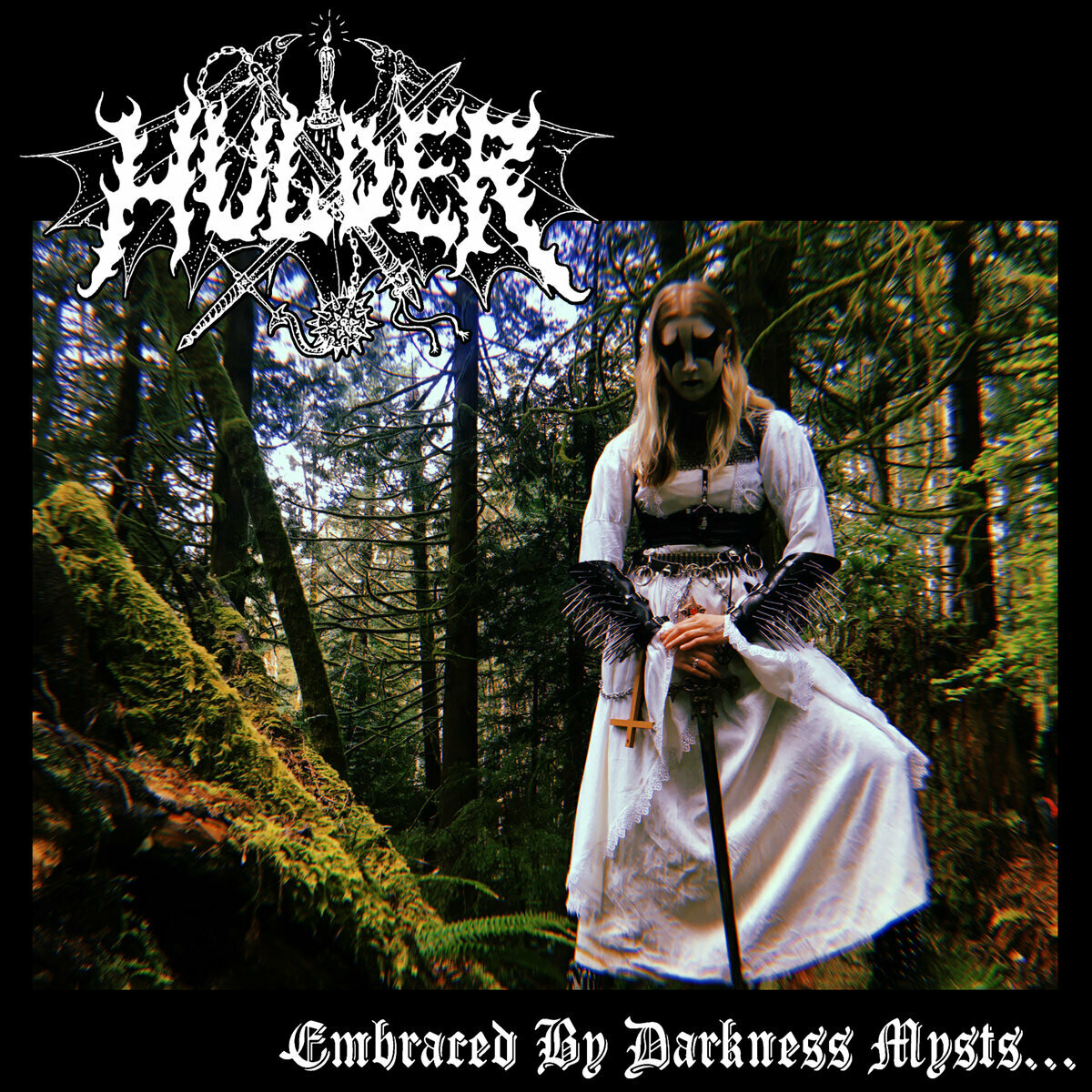 "Hulder - Embraced by Darkness Mysts 7"" + Patch"
