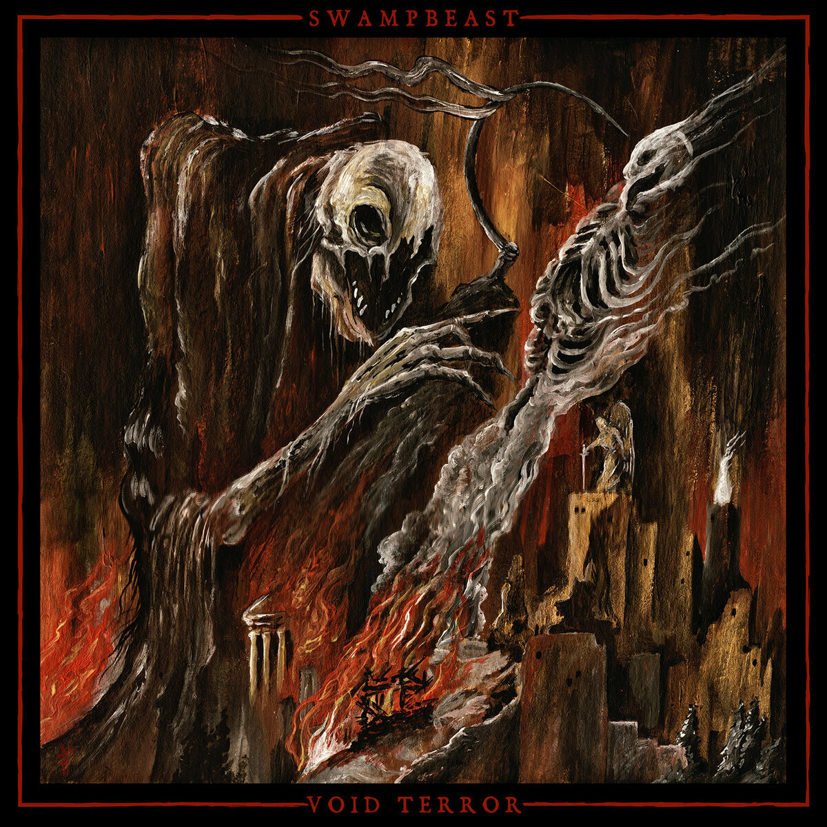 "Swampbeast / Void Terror - Holocaust of Terrestrial Empires"" Split MLP"
