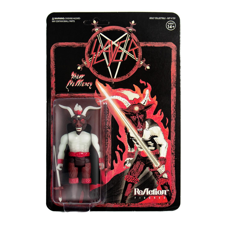 Slayer 'Show No Mercy' ReAction Figure - Minotaur GLOW IN THE DARK!