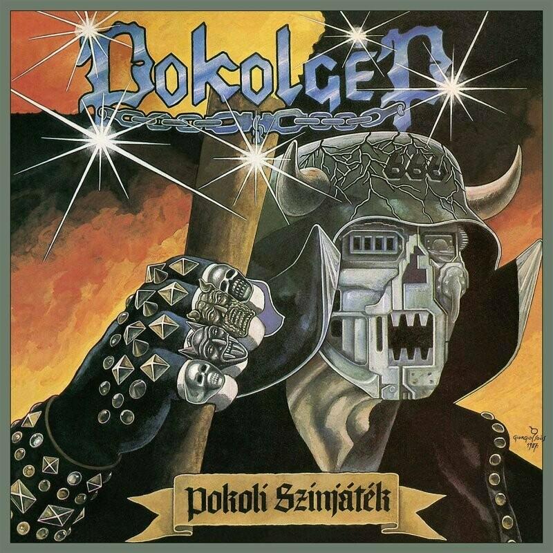 Pokolgep - Pokoli Színjáték (Electrcic Blue Vinyl)