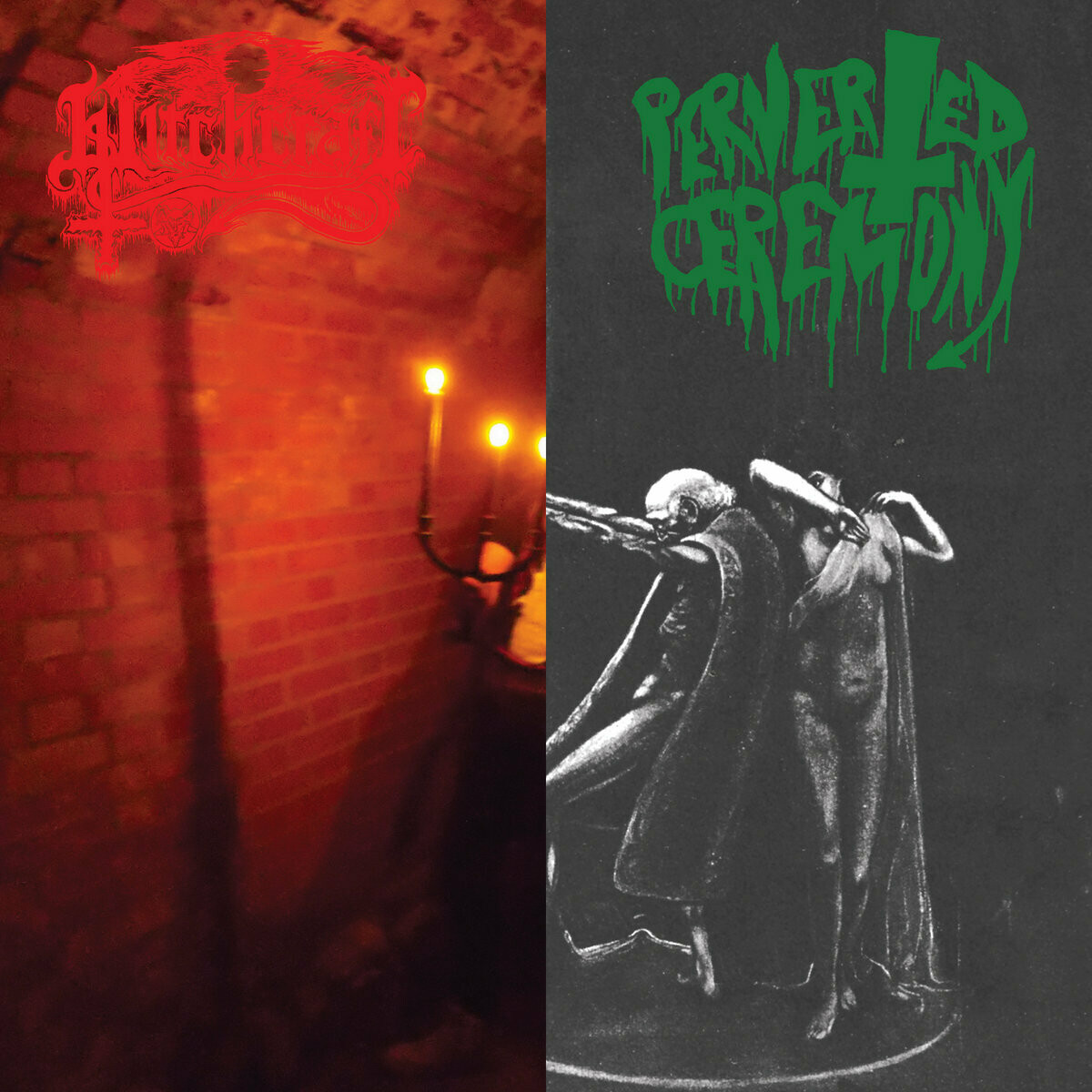 Perverted Ceremony / Witchcraft - Nighermancie