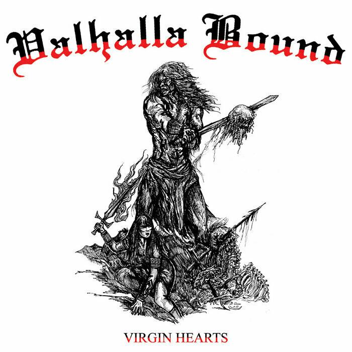 Valhalla Bound – Virgin Hearts (Black Vinyl)