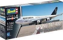 Iron Maiden - Aeroplane assembly kit 1/144 Boeing 747-400