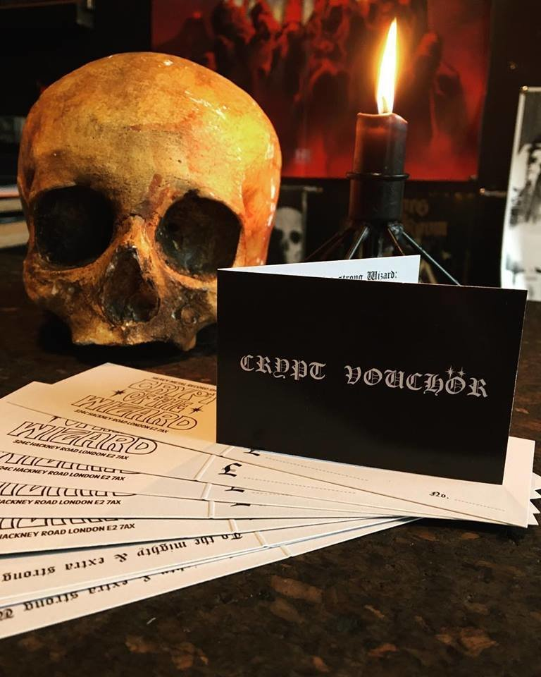 Crypt Vouchör - From £5
