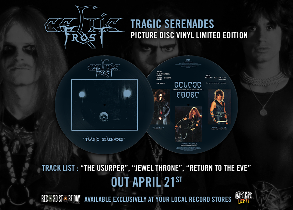 Celtic Frost - Tragic Serenades - Picture Disc Vinyl Limited Edition