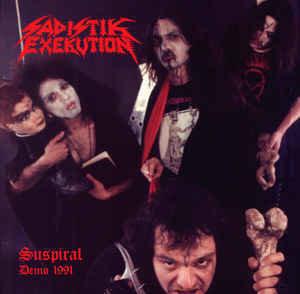 "Sadistik Exekution / Doomed And Disgusting – Suspiral Demo 1991 / Murder In The Dark, 7"""