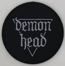 Demon Head - Patch - Round
