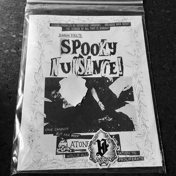 Spooky Nuisance zine