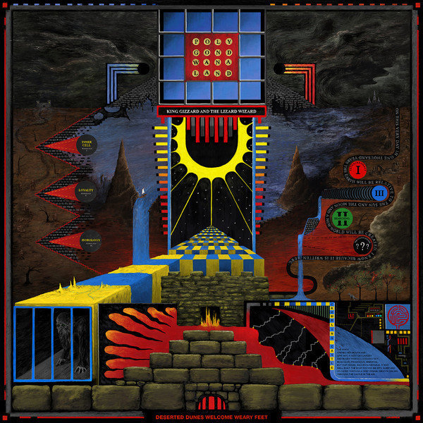 King Gizzard And The Lizard Wizard ‎– Polygondwanaland