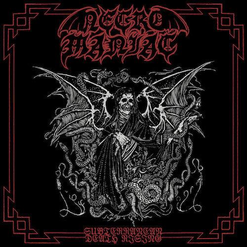 "Necromaniac - Subterranean Death Rising 7"" EP"