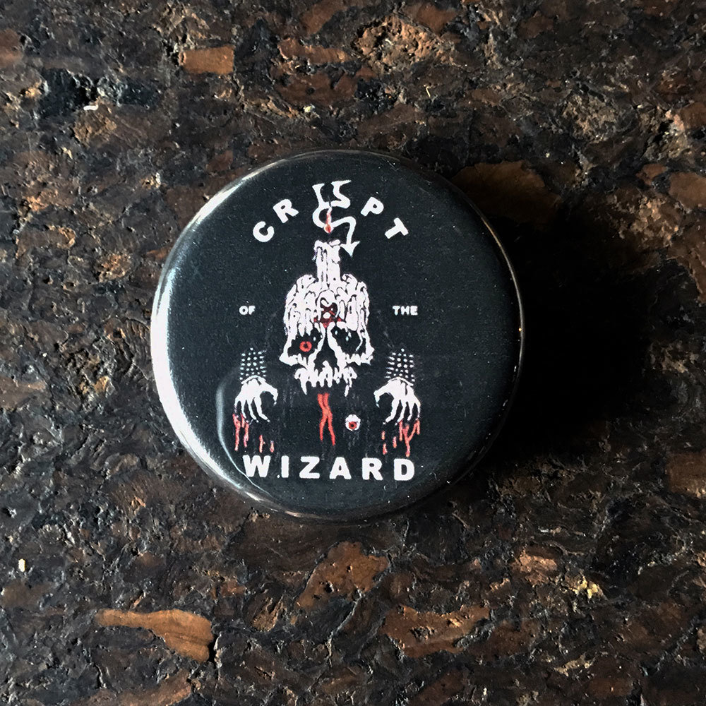 Pin (32mm) - The Wizard X Nicky Le Rat