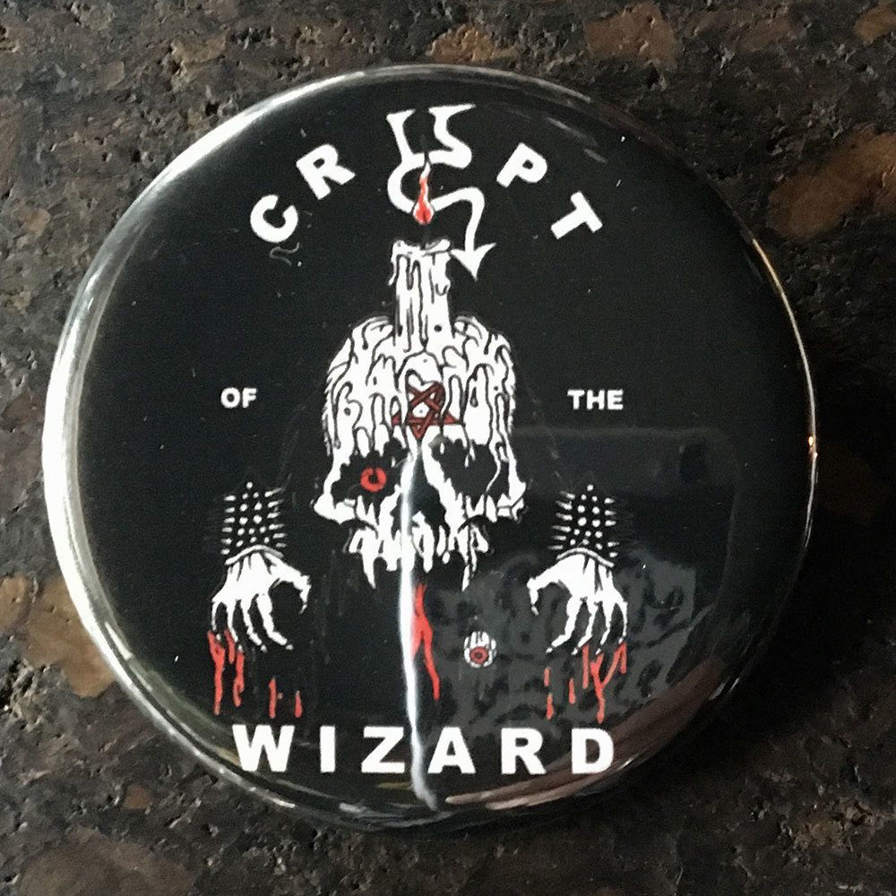 Pin (58mm) - The Wizard X Nicky Le Rat