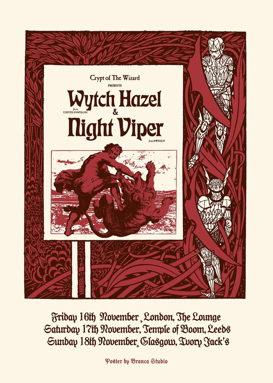 Wytch Hazel & Night Viper Ticket - FRI 16 November 2018 at the Lounge, LONDON