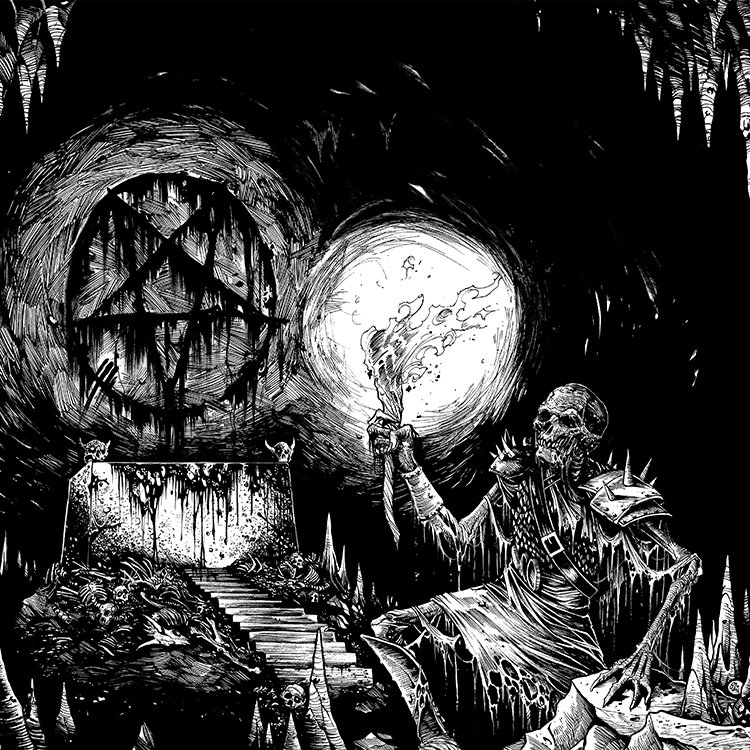 Knight Terror - Conjuring A Death Creature