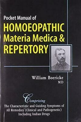 Materia Medica with Repertory (Boericke)*