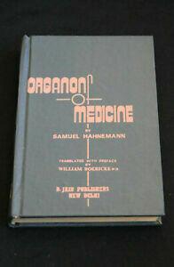 Organon of ..... translated by W Boericke*