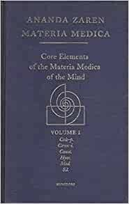 Core elements of the Materia Medica of the mind
