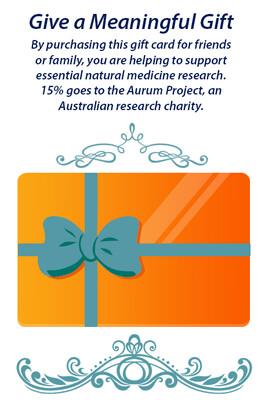 Natural Therapies Gift Card