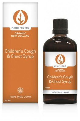 KiwiHerb Kids Cough & Chest Syrup  100mL