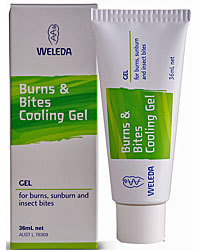 Weleda Burns and Bites Cooling Gel 36mL
