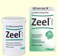Zeel Homeopathic 50 tablets by Heel