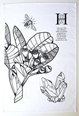 Gift: Artwork Homeopathy Tea-towel