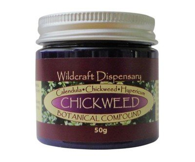 Chickweed botanical compound organic herbal ointment