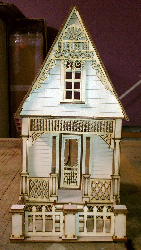 Little Ann Victorian Cottage 1 24 Scale Dollhouse