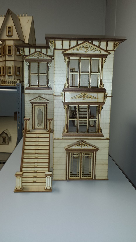 Lisa San Francisco Painted Lady 1 24 Scale Dollhouse