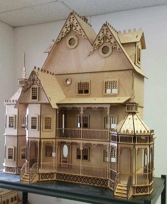 Ashley Victorian 1 12 Scale Dollhouse Kit