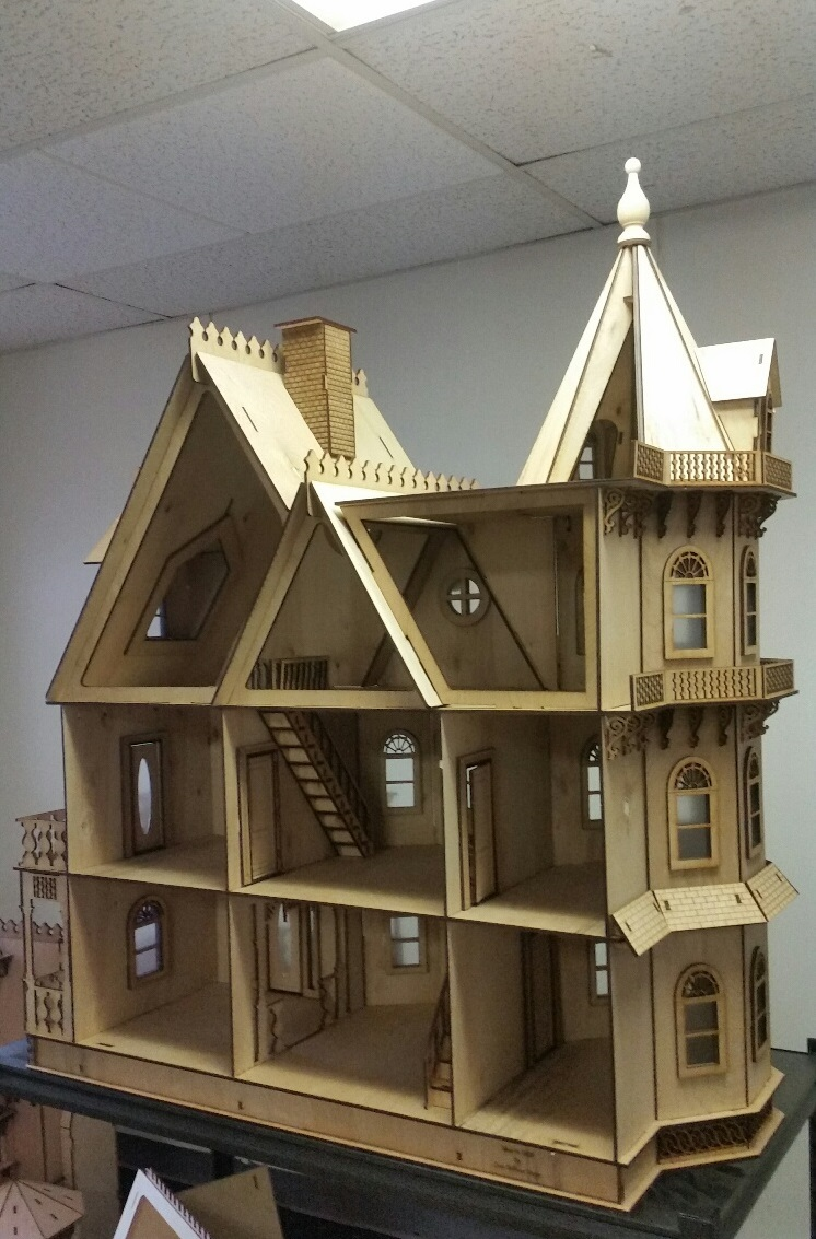 Leon Gothic Victorian Mansion 1 12 Scale