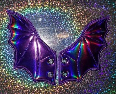 Bat wings Adult shoe wings customized