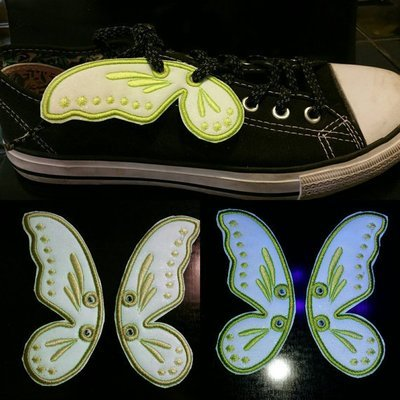 Fairy wings shoe wings customized Adult size