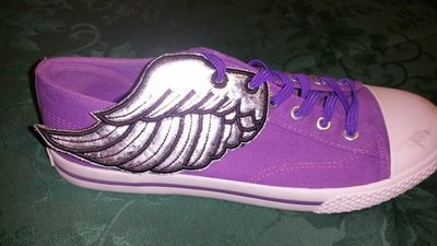 Angel wings3 adult customized shoe wings