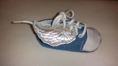 Angel wings infant customized shoe wings