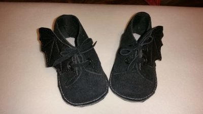Bat wings infant customized shoe wings (wings only)  shoes sold separately