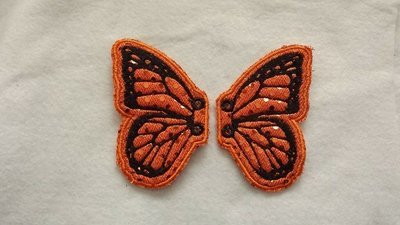 Monarch Butterfly Adult customized shoe wings