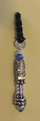 Doctor Who inspired sonic screwdriver phone plug