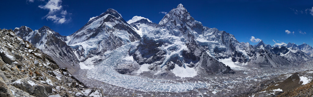 "Panorama ""Everest Basecamp"""