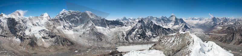 "Panorama ""Island Peak"""