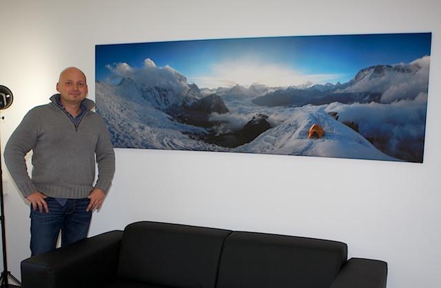 Beispiel des Panoramas mit Herrn Hoffmann