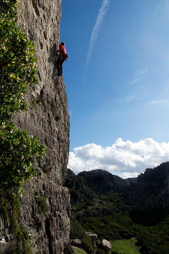 Klettern in Jerzu